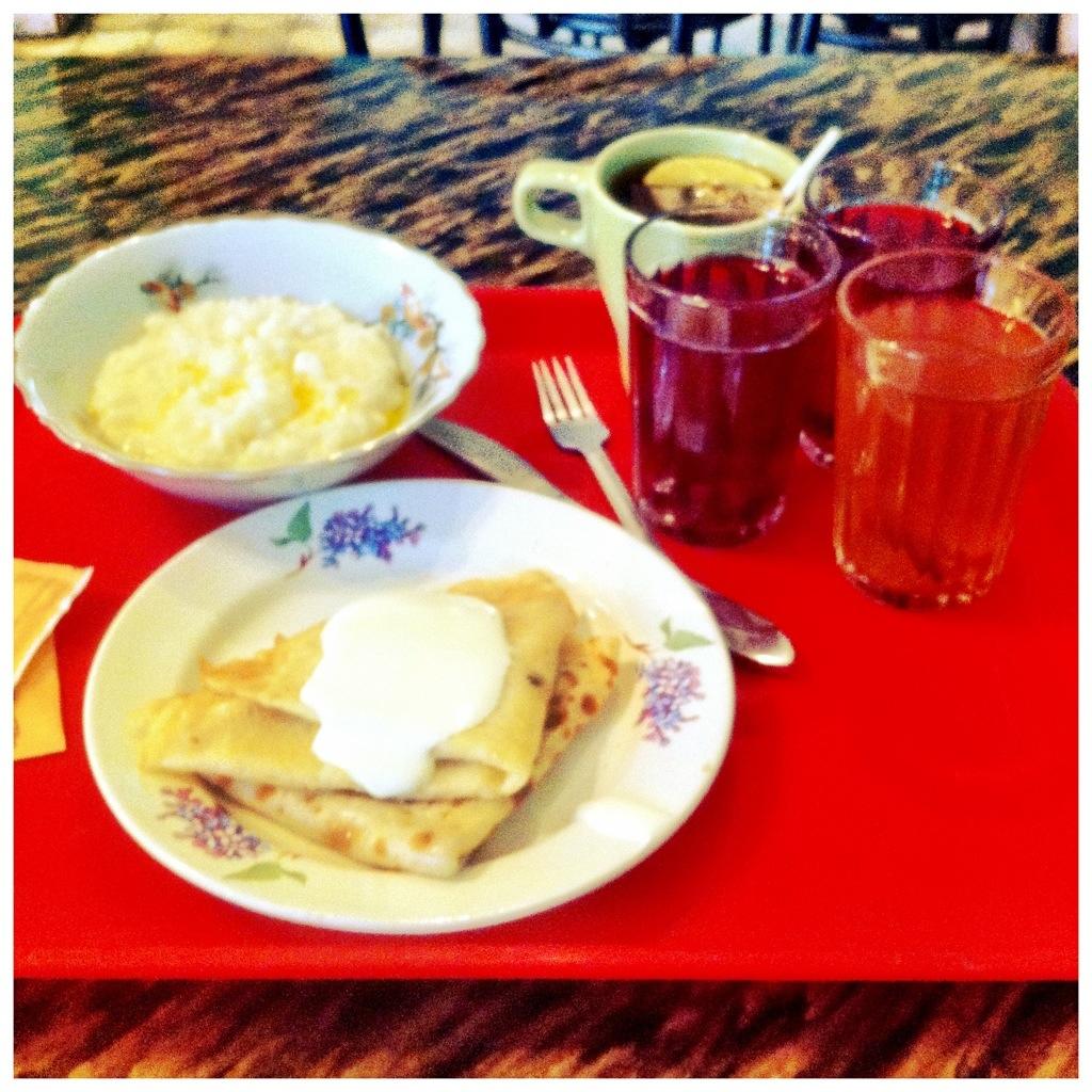 Завтрак за 83 рубля. Город Клин